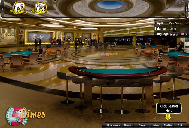 5 Dimes Casino